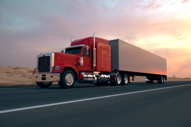 Trucking Road Freight